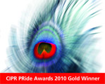 PRide Awards 2010 Gold Winner